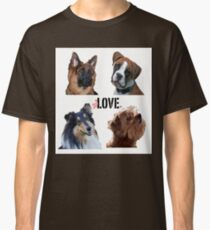LOVE dogs Classic T-Shirt