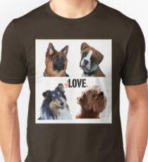LOVE dogs Slim Fit T-Shirt