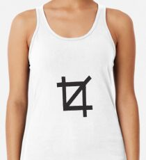 Crop Symbol Women's Tank Top