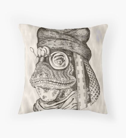 Character study: the Desert Ranger Throw Pillow