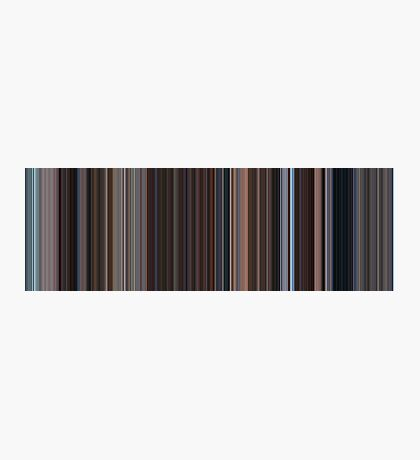 Moviebarcode: Eternal Sunshine of the Spotless Mind (2004) [Simplified Colors] Photographic Print