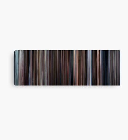 Moviebarcode: Eternal Sunshine of the Spotless Mind (2004) Canvas Print
