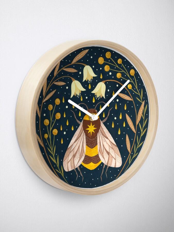 Alternate view of Harvester of gold Clock