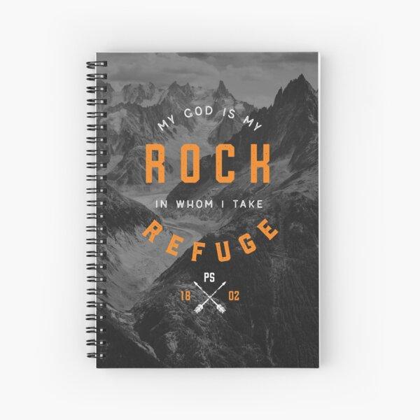 PSALM 18:2 Spiral Notebook