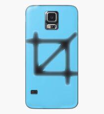 Crop Symbol Case/Skin for Samsung Galaxy