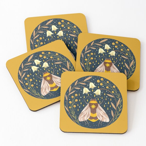 Harvester of gold Coasters (Set of 4)