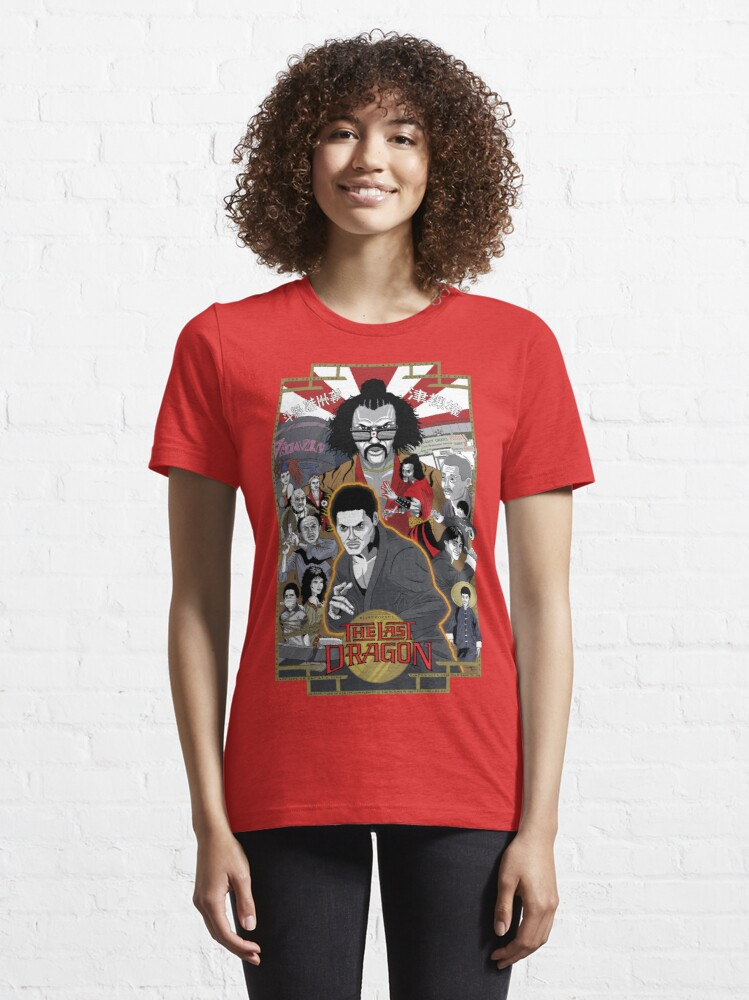 Alternate view of The Last Dragon Glow Poster Shirt Essential T-Shirt