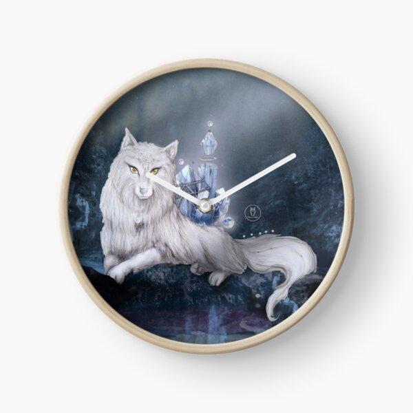 Luna - The Moon Temple Clock