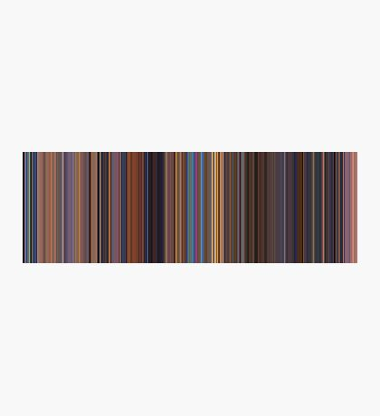 Moviebarcode: Toy Story 2 (1999) [Simplified Colors] Photographic Print