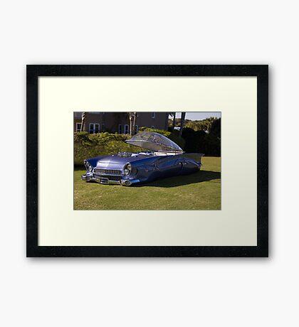 1955 Ford Beatnik Bubbletop Three Quarter View Framed Print