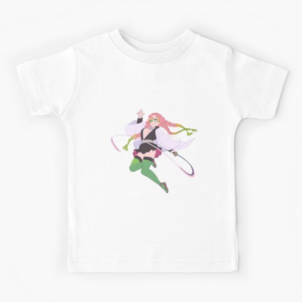 Kimetsu No Yaiba Demon Slayer Mitsuri Kanroji Kids T Shirt By Styletto Redbubble Check out our mitsuri kanroji selection for the very best in unique or custom, handmade pieces from our prints shops. redbubble