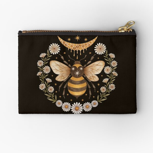 Honey moon Zipper Pouch
