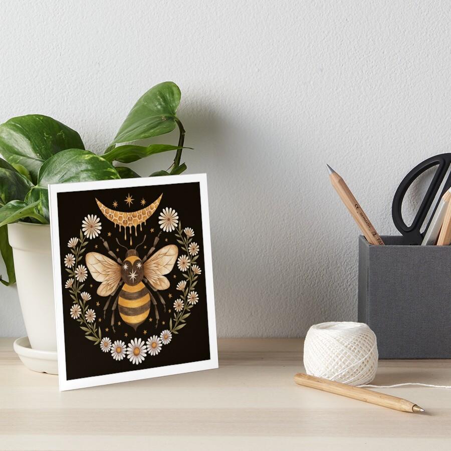 Honey moon Art Board Print