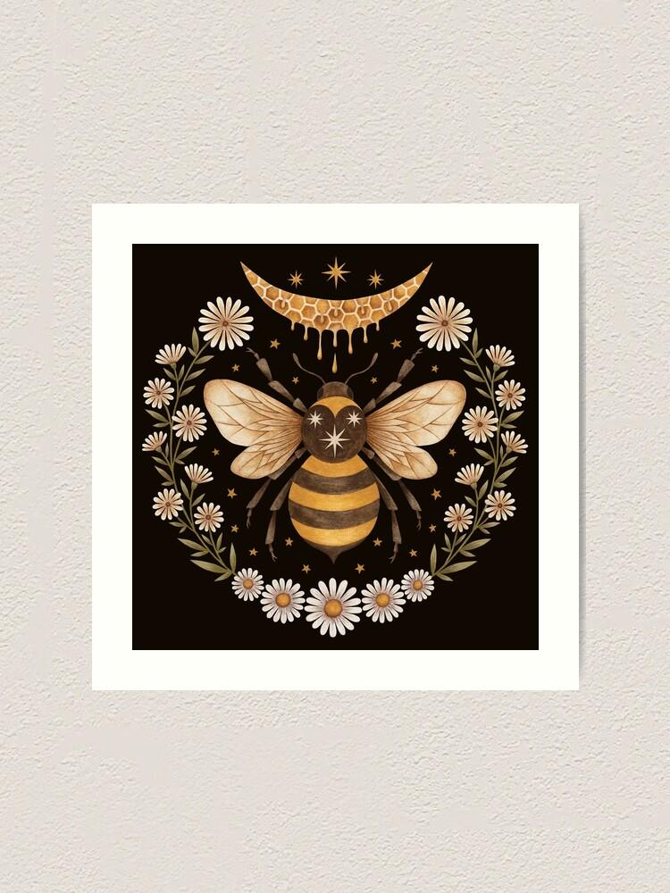 Alternate view of Honey moon Art Print