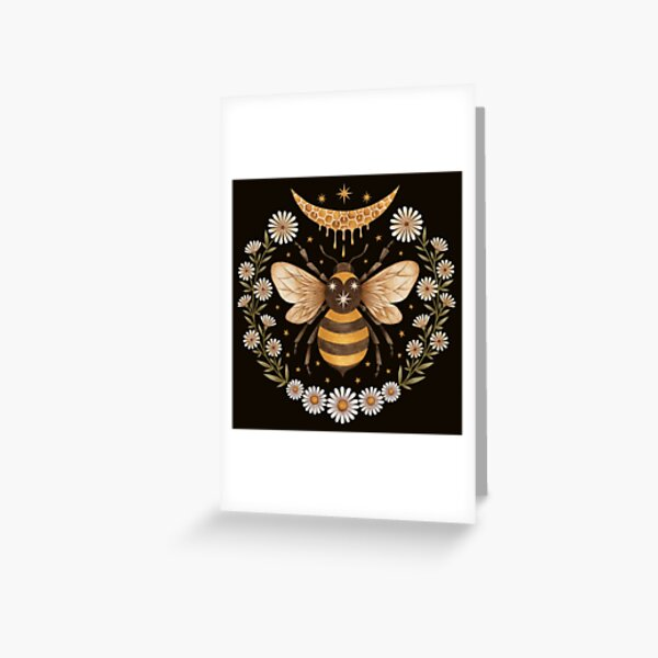 Honey moon Greeting Card