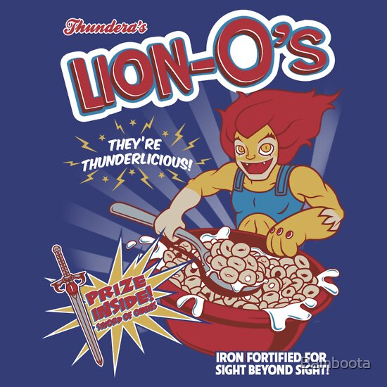 TShirtGifter presents: Lion-O's Cereal
