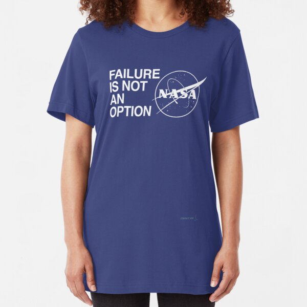 FAILURE IS NOT AN OPTION Slim Fit T-Shirt