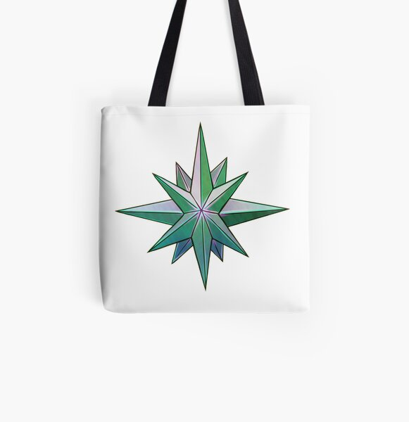 Heart All Over Print Tote Bag