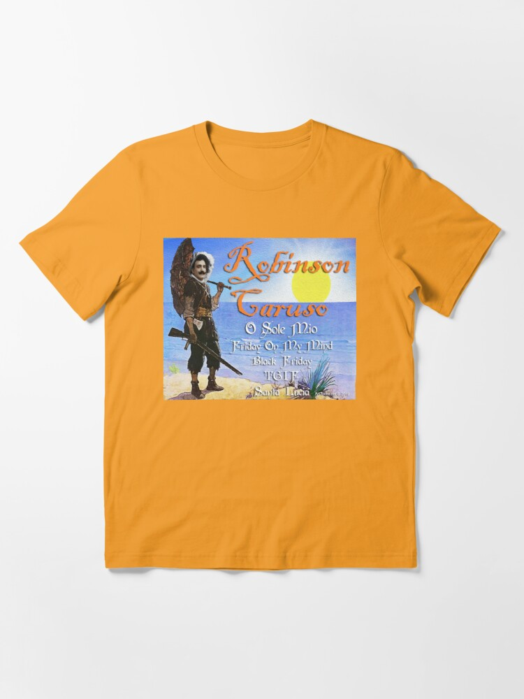 Alternate view of Robinson Caruso Essential T-Shirt