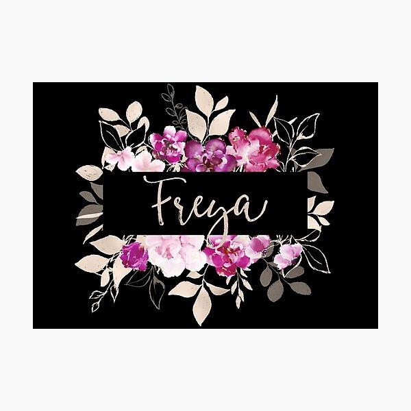Pretty Ink Freya Photographic Print