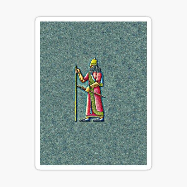 Assyrian King Sticker