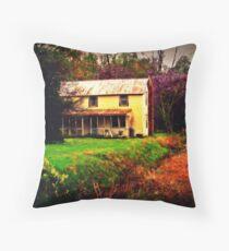 Rural Spring Throw Pillow
