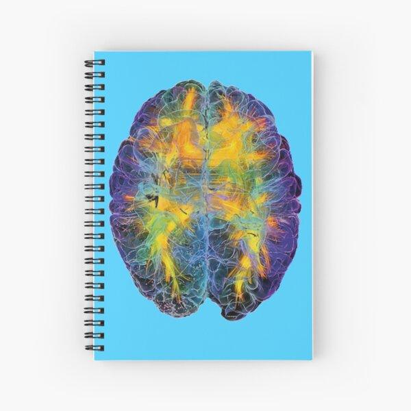 Brain Power Spiral Notebook