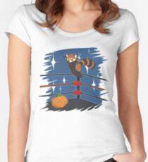 Panda Bodyslam Women's Fitted Scoop T-Shirt