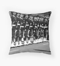 Freedom of the City March in Vancouver Throw Pillow