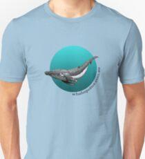 WS Humpback Design - by Linda Cox 04B Unisex T-Shirt