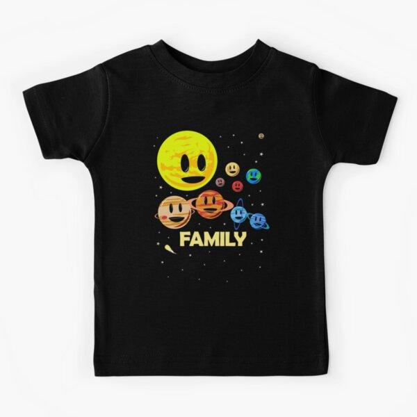 Familia de Sistema Solar Camiseta para niños