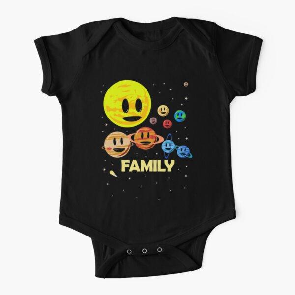 Solar System Family Short Sleeve Baby One-Piece