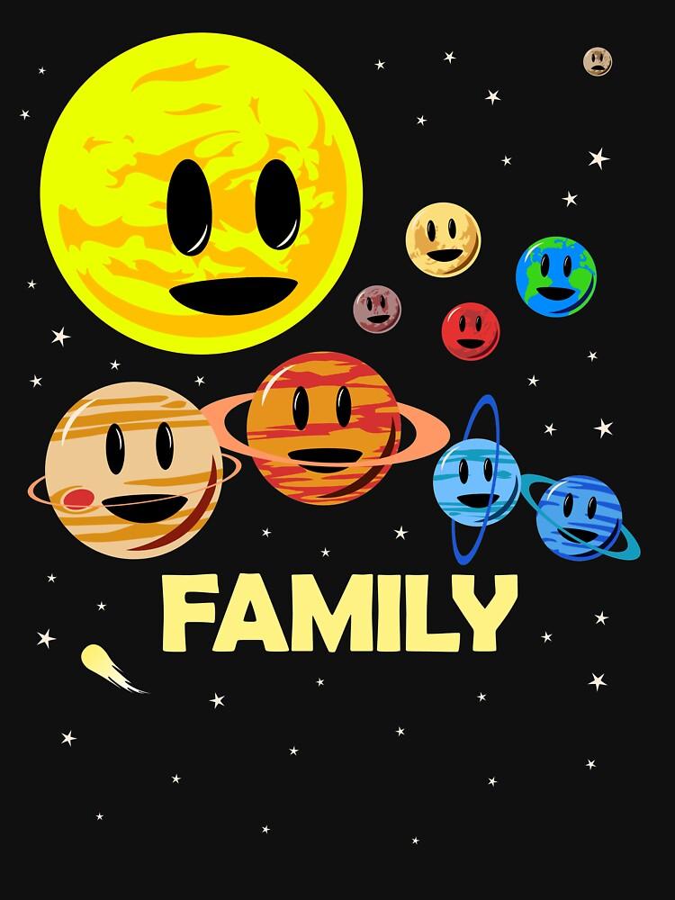 Solar System Family by jezkemp