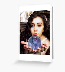 Blue Eyes for You Greeting Card