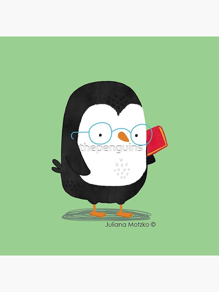 Nerd Penguin by thepenguins