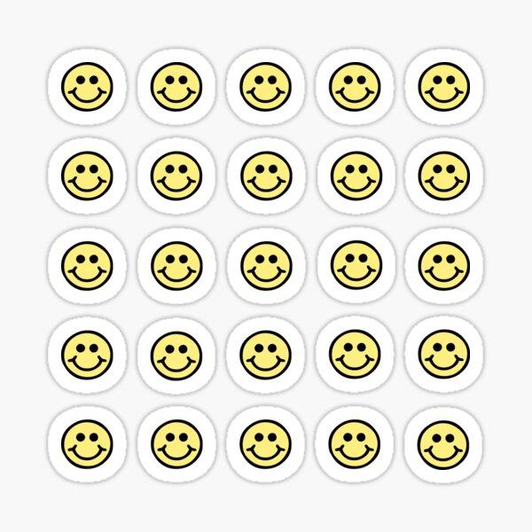 Mini pack cara sonriente Pegatina