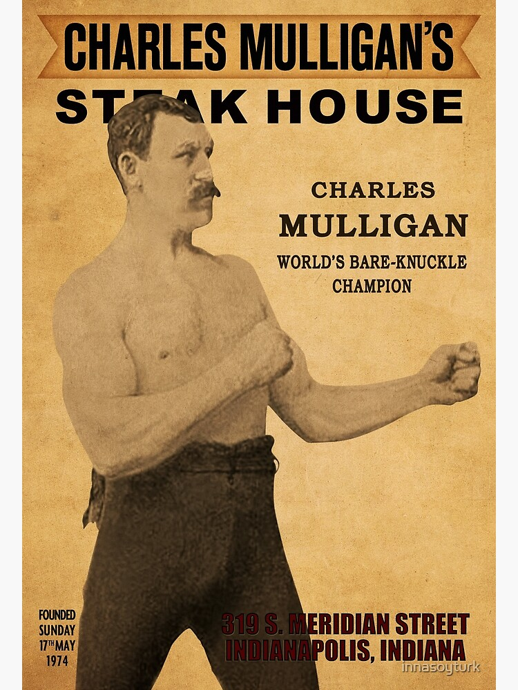 Ron Swanson Charles Mulligan/'s Steakhouse Poster Nick Offerman Office Poster
