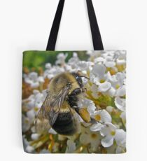 Busy Bumble Bee Tote Bag