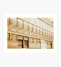 wool shed Art Print