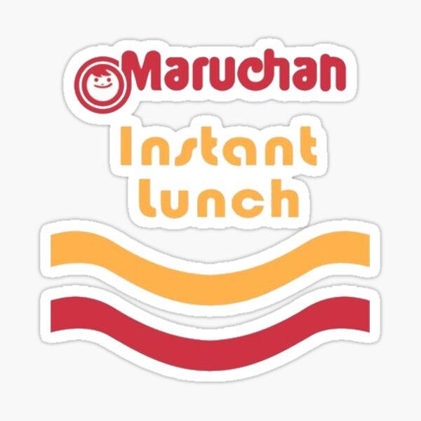 Almuerzo Instantáneo Maruchan Pegatina