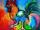 Big Rooster by Karin Zeller