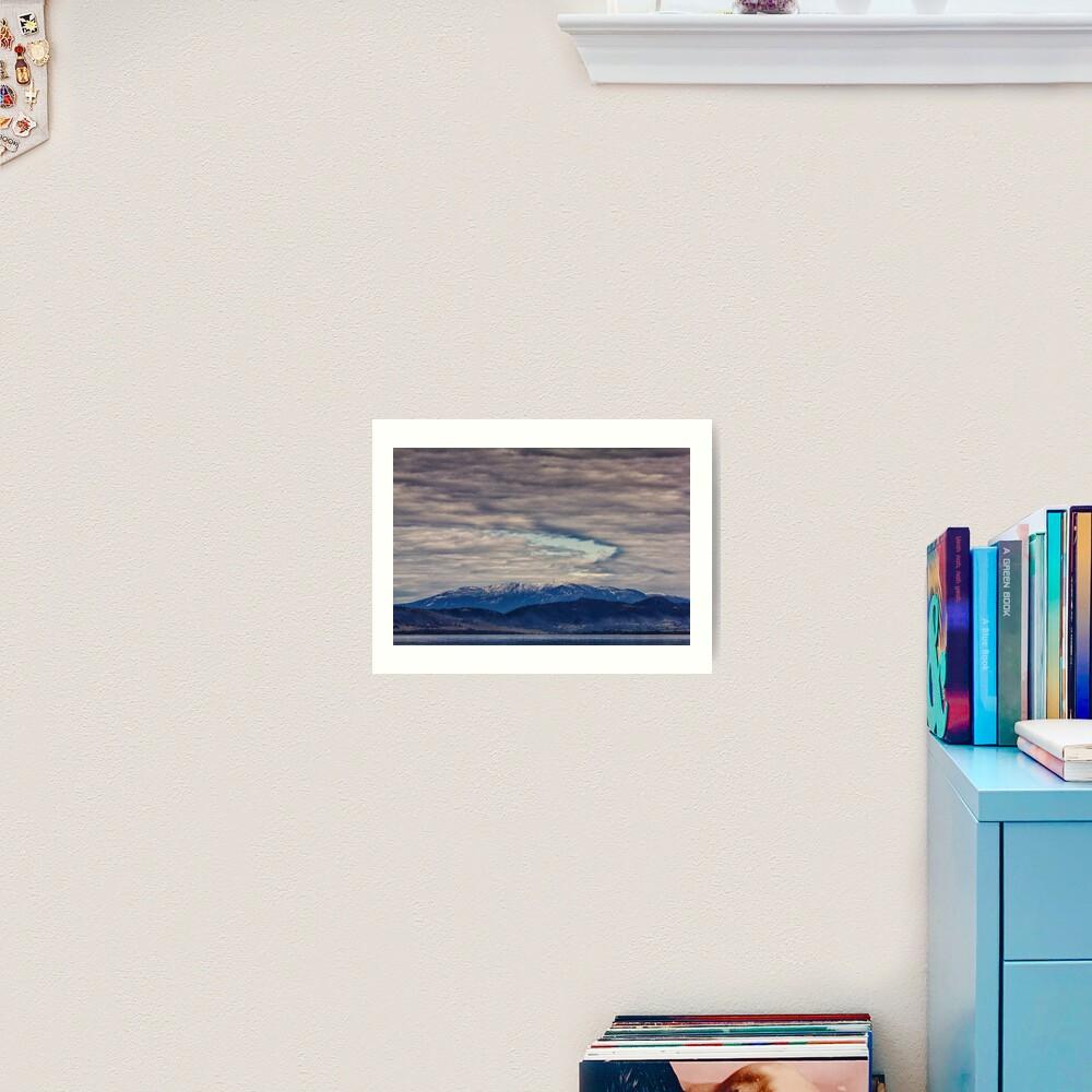 Mount Wellington In Winter Art Print
