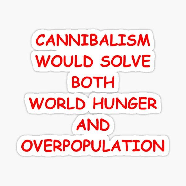 Cannibalism Sticker