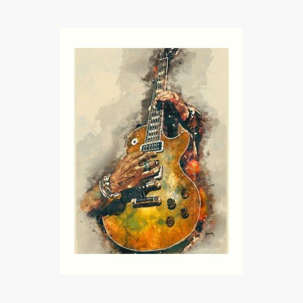 Slash's electric guitar Art Print