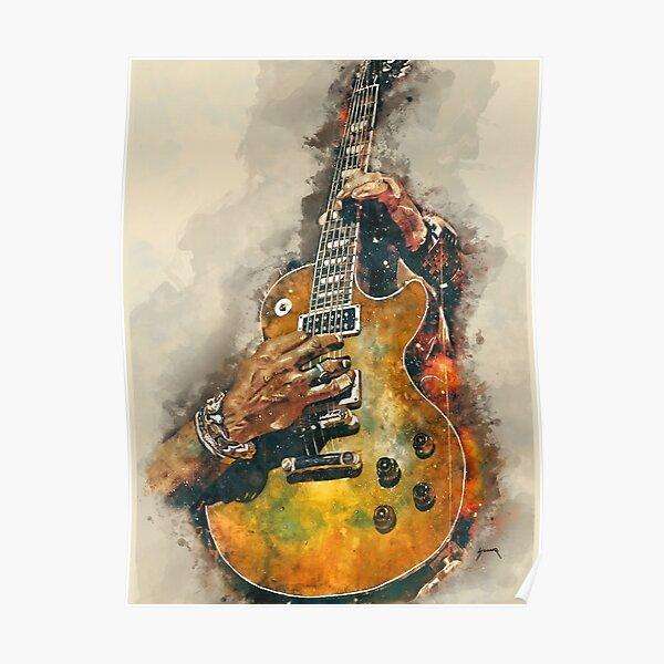 La guitare électrique de Slash Poster