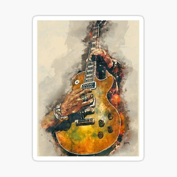 Slash's electric guitar Sticker