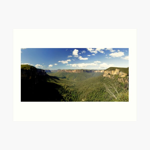 Govett's Leap, Blue Mountains, NSW.  Art Print