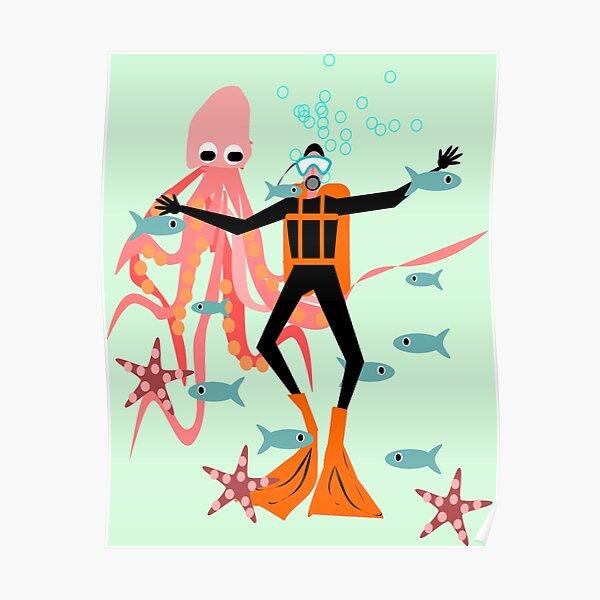 Scuba Diving! Poster
