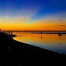 Pre dawn at Shorncliffe. Brisbane, Queensland, Australia. by Ralph de Zilva