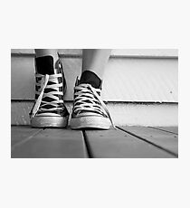 Kicks Photographic Print